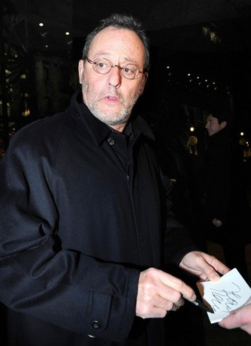 Jean Reno Leaving The Ritz Carlton Hotel