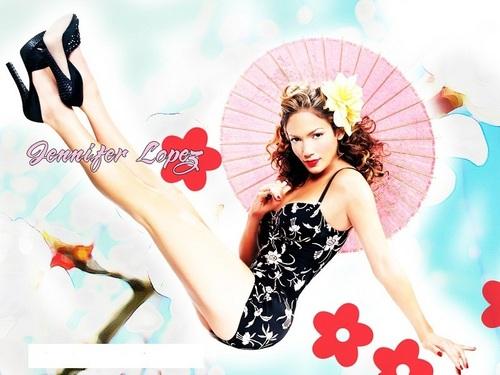 Jennifer Lopez kertas dinding