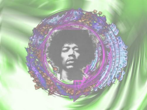 Classic Rock wallpaper probably containing a red cabbage titled Jimi Hendrix