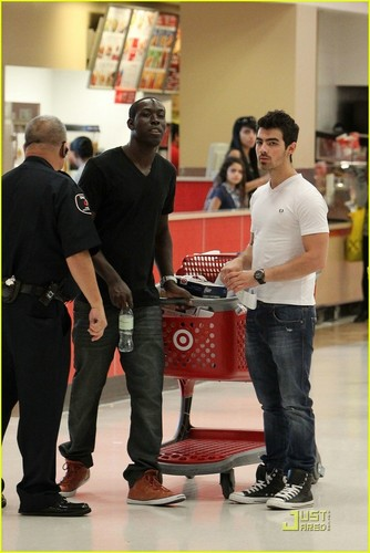 Joe Jonas is On Target (December 7)