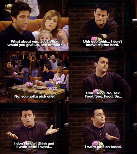 Joey & Chandler Обои titled Joey Tribbiani (Matt LeBlanc)