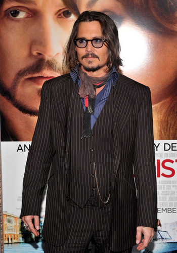 Johnny Depp @ the World Premiere of 'The Tourist'