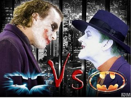 The Joker kertas dinding called Joker vs Joker