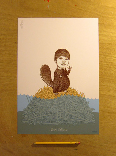 Justin castor - Limited Edition Print