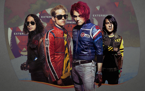 My Chemical Romance wallpaper containing sunglasses called KILLJOYS