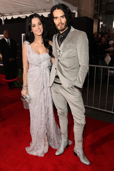Katy Perry & Russell Brand @ the Premiere of 'The Tempest'