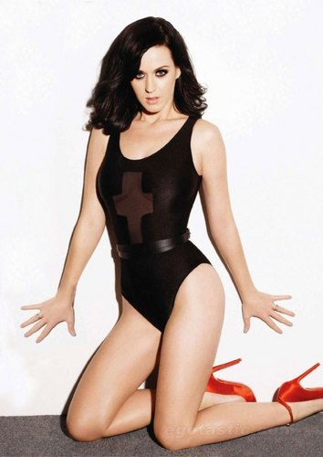 katy perry wallpaper containing a maillot titled Katy Perry in the January 2011 Issue of Maxim Magazine