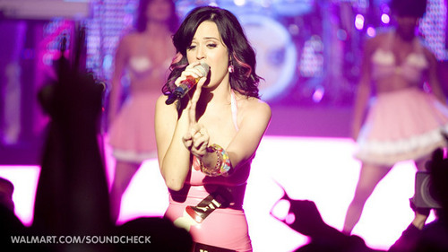 Katy Perry on Walmart Soundcheck