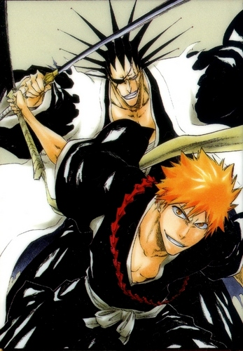 Kenpachi and Ichigo