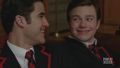Klaine - 2x10 - A Very Glee Christmas - kurt-and-blaine screencap