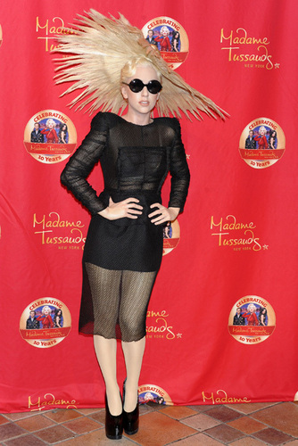 Lady Gaga Madam Tussauds New York