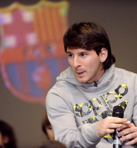 "Lionel Messi for ""Unicef"" (9.12.2010)"