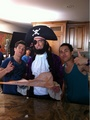 Logan + Carlos + Patchy the Pirate