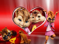 Love Birds-Alvin and Brittany - alvin-and-the-chipmunks photo