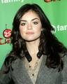 Lucy Hale ABC Family Winter Wonderland Event