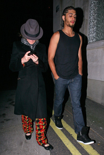 Madonna in Mayfair with Jésus Luz