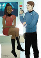 McHura - star-trek-couples fan art