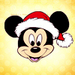 Merry Xmas - mickey-mouse icon