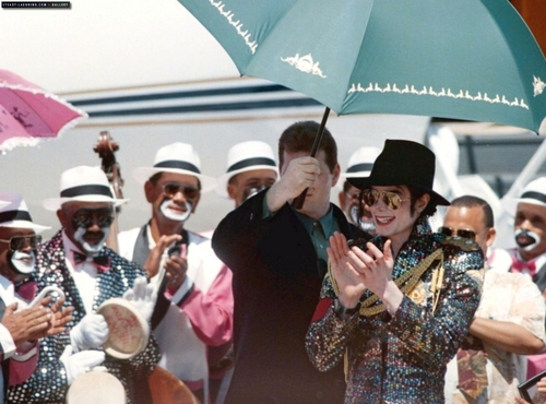 Michael visits Cape Town