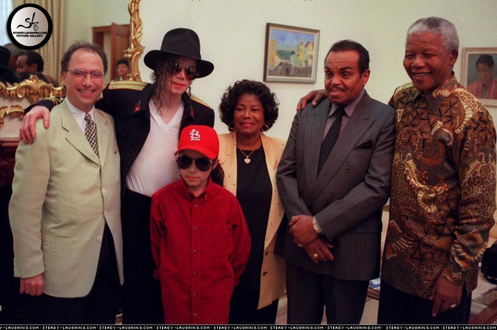 Michael visits Cape Town