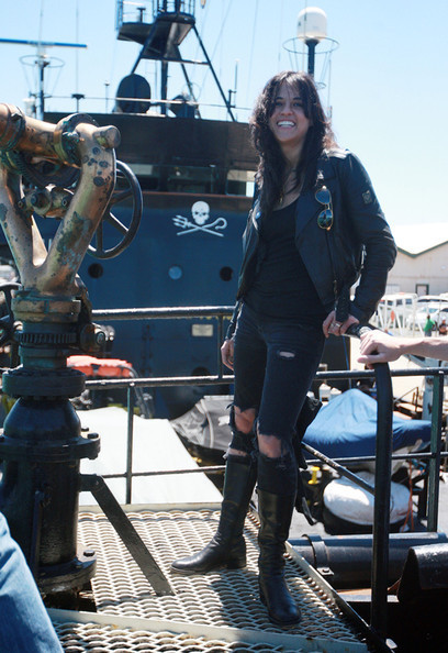 Michelle Supporting Sea Shepherd - 2010
