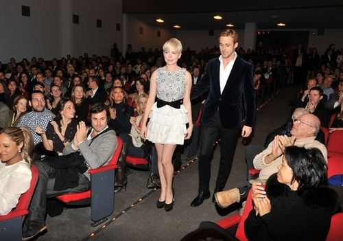 Michelle Williams & Ryan Gosling - Blue Valentine Premiere at MOMA (7.12.2010) - michelle-williams Photo