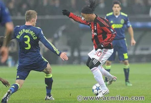 Milan-Ajax 0-2, Champions League 2010/2011