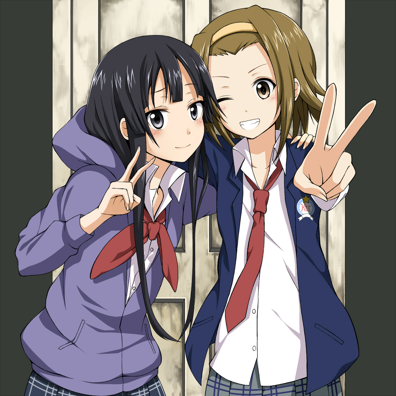 K-ON! images Mio & Ritsu HD wallpaper and background ...