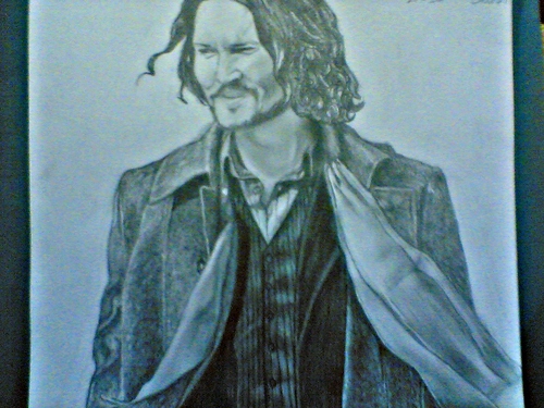 My Frank Tupelo Drawing (The tourist)