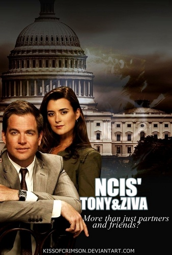 NCIS wallpaper with a business district, a business suit, and a street called NCIS' Tony and Ziva