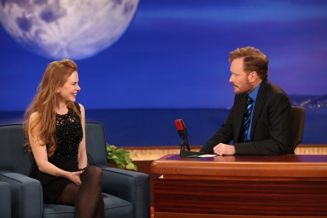 Nicole Kidman and Conan O'Brien