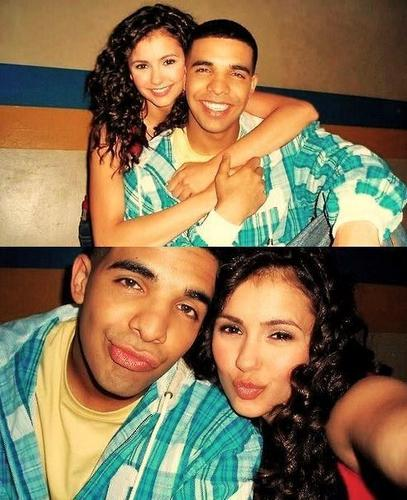 Nina Dobrev &Drake