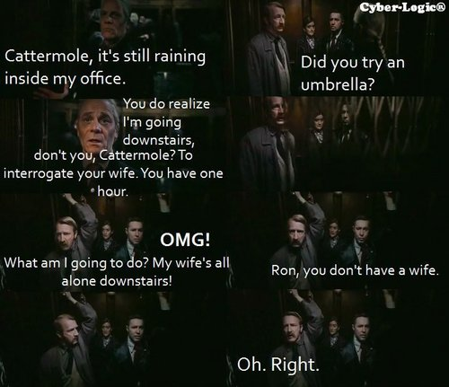 Oh Ron, you're adorable ^.^