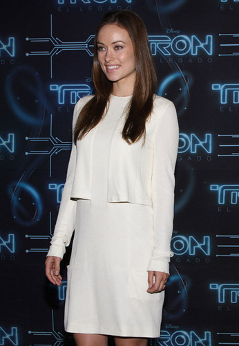 Olivia Wilde @ the 'Tron: Legacy' Photocall @ the St Regis Hotel in Mexico