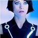 Olivia as Quorra in 'Tron: Legacy'