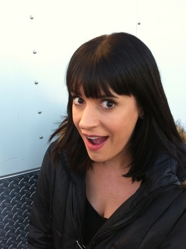 Paget Brewster wallpaper possibly containing a portrait entitled Paget Brewster