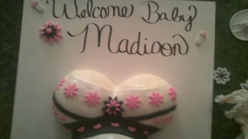 Pregnant Belly Bump Cake