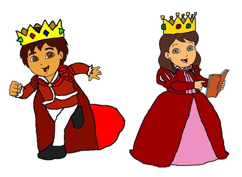 Prince Diego and Princess Alicia