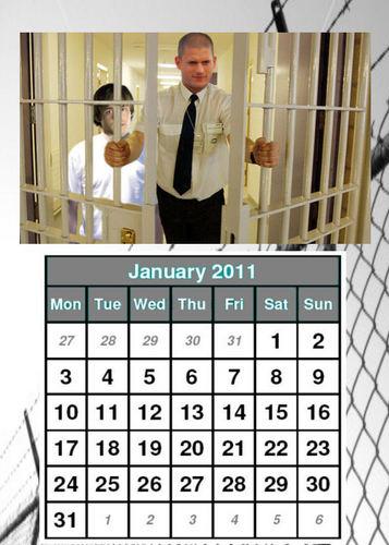Prison Break - Calendar 2011