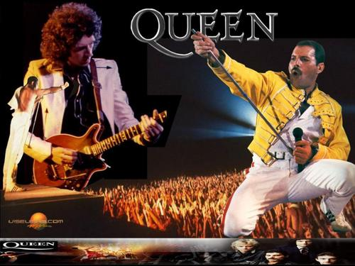 Classic Rock wallpaper containing a concert entitled Queen