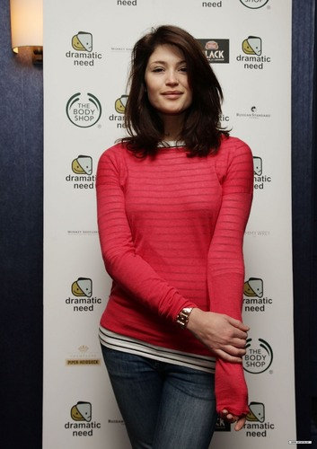 Gemma Arterton wallpaper possibly containing a pullover called Rehearsals for The Children's Monologues fundraising gala