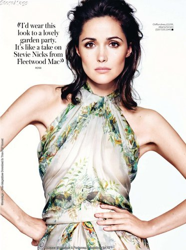 Rose in InStyle UK 1-11