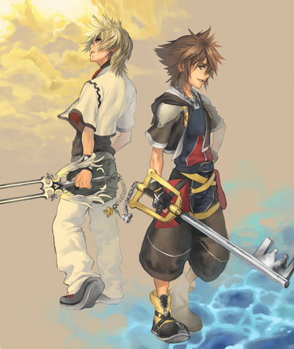 roxas and sora wallpaper called Roxas and Sora
