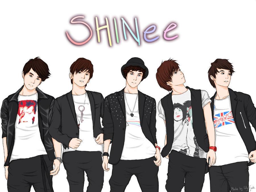 SHINee Fan Art - Shinee Fan Art  17551664  - Fanpop