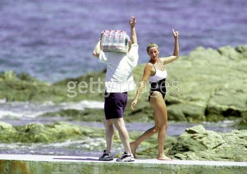 ST TROPEZ, FRANCE - JULY 17 1997