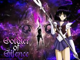Sailor Saturn Hintergrund probably containing a claymore, a concert, and a falchion entitled Sailor Saturn