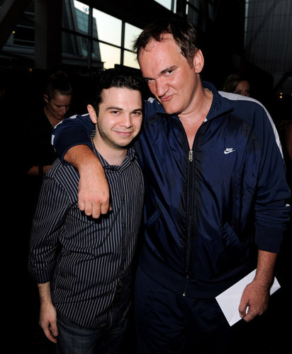 Samm & Quentin Tarantino @ 'The Last Exorcism' Screening - 2010