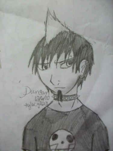 Sexual duncan....ANIME