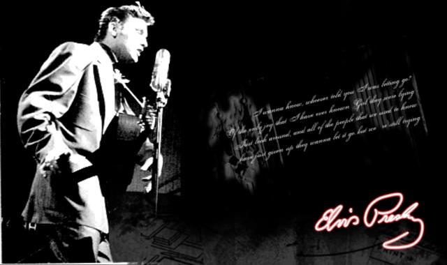 Singing - Elvis Presley Fan Art (17543837) - Fanpop