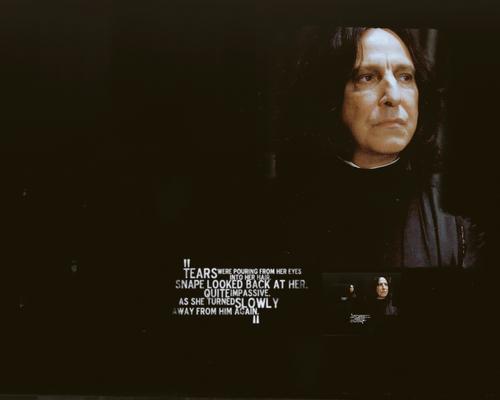 Hogwarts Professors wallpaper called Snape